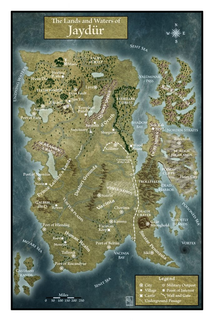 how to make a fantasy map